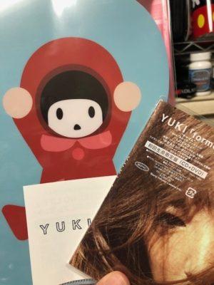 YUKI forme 初回特典クリアケース付き